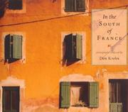 Cover of: In the South of France
