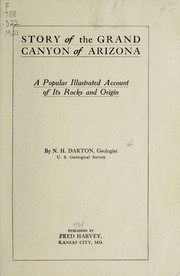 Cover of: Story of the Grand Canyon of Arizona