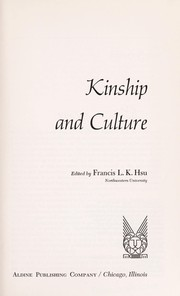 Cover of: Kinship and culture