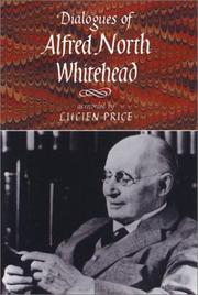 Cover of: Dialogues of Alfred North Whitehead