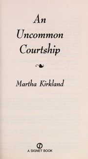 Cover of: An uncommon courtship