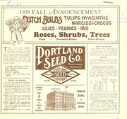 Cover of: 1928 fall annoucement
