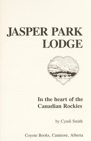 Cover of: Jasper Park Lodge