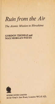 Cover of: Ruin from the air | Gordon Thomas