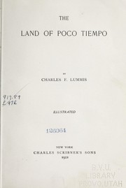Cover of: The land of poco tiempo
