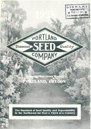 Cover of: Portland Seed Company's complete seed annual and planters guide for 1928