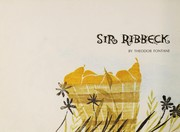 Cover of: Sir Ribbeck auf Ribbeck auf Havelland