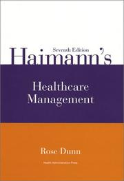 Cover of: Haimann