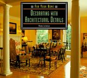 Cover of: Decorating with architectural details | Michael W. Litchfield