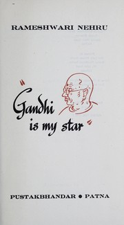 Cover of: Gandhi is my star