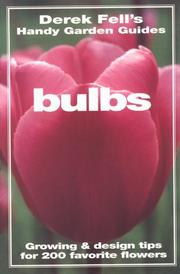 Cover of: Bulbs
