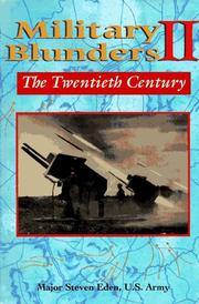 Cover of: Military blunders II