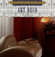Cover of: Art deco