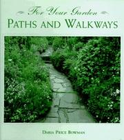 Cover of: Paths and walkways