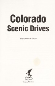 Cover of: Colorado Scenic Drives