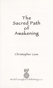 Cover of: The Sacred Path of Awakening