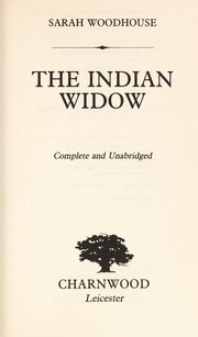 Cover of: Indian Widow