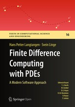 Cover of: Finite difference computing with PDEs