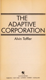 Cover of: The adaptive corporation