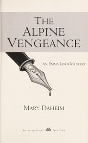 Cover of: The Alpine vengeance