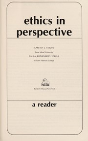 Cover of: Ethics in perspective
