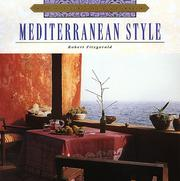 Cover of: Mediterranean style | Fitzgerald, Robert