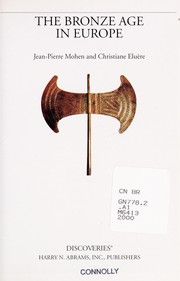 Cover of: The Bronze Age in Europe