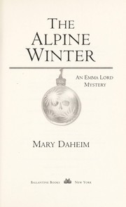 Cover of: The Alpine winter