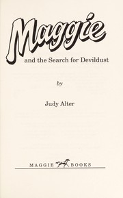 Cover of: Maggie and the search for Devildust