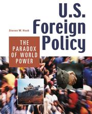Cover of: U.S. foreign policy | Steven W. Hook