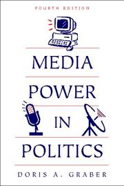 Cover of: Media power in politics |