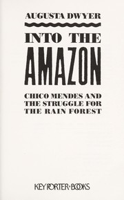 Cover of: Into the Amazon