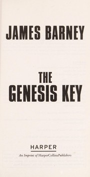 Cover of: The genesis key | James Barney