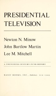 Cover of: Presidential television