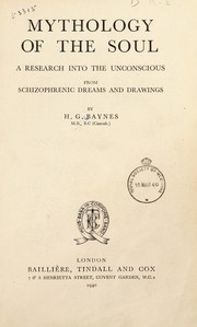 Cover of: Mythology of the soul