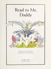 Cover of: Read to me, daddy