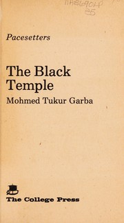 Cover of: The black temple