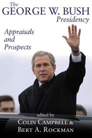 Cover of: The George W. Bush presidency