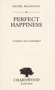 Cover of: Perfect Happiness