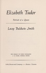 Cover of: Elizabeth Tudor