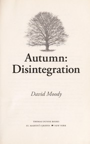 Cover of: Autumn | David Moody