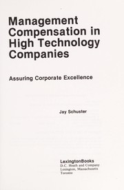 Cover of: Management compensation in high technology companies