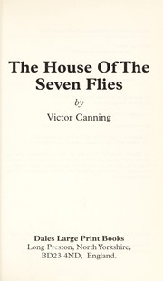 Cover of: The House of the Seven Flies | Victor Canning