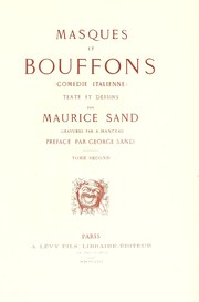 Cover of: Masques et bouffons