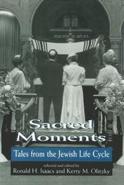 Cover of: Sacred Moments