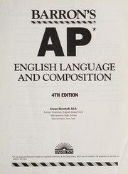 Cover of: AP English literature and composition