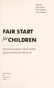 Fair Start for Children