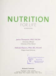 Cover of: Nutrition for life