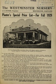 Cover of: Planter's special price list
