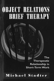 Cover of: Object relations brief therapy